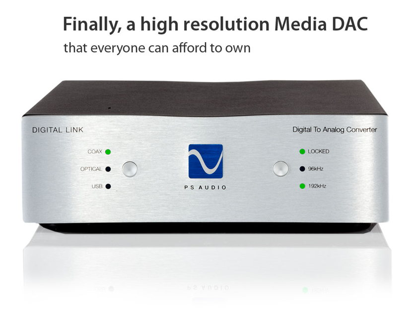 PS Audio Digital Link IIi Unopened trade-in w/warranty