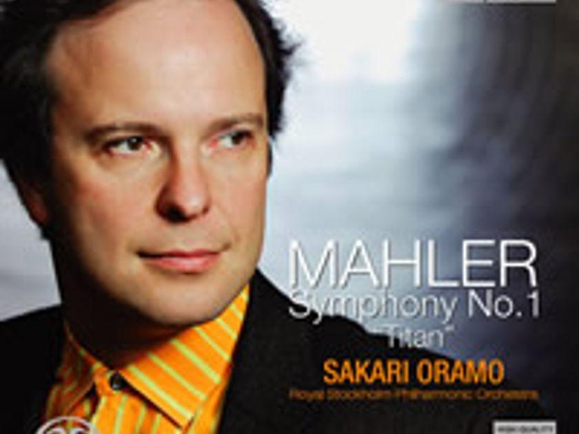 Mahler Symphony No 1 - Royal Stockholm Philharmonic  Oramo Exton SACD