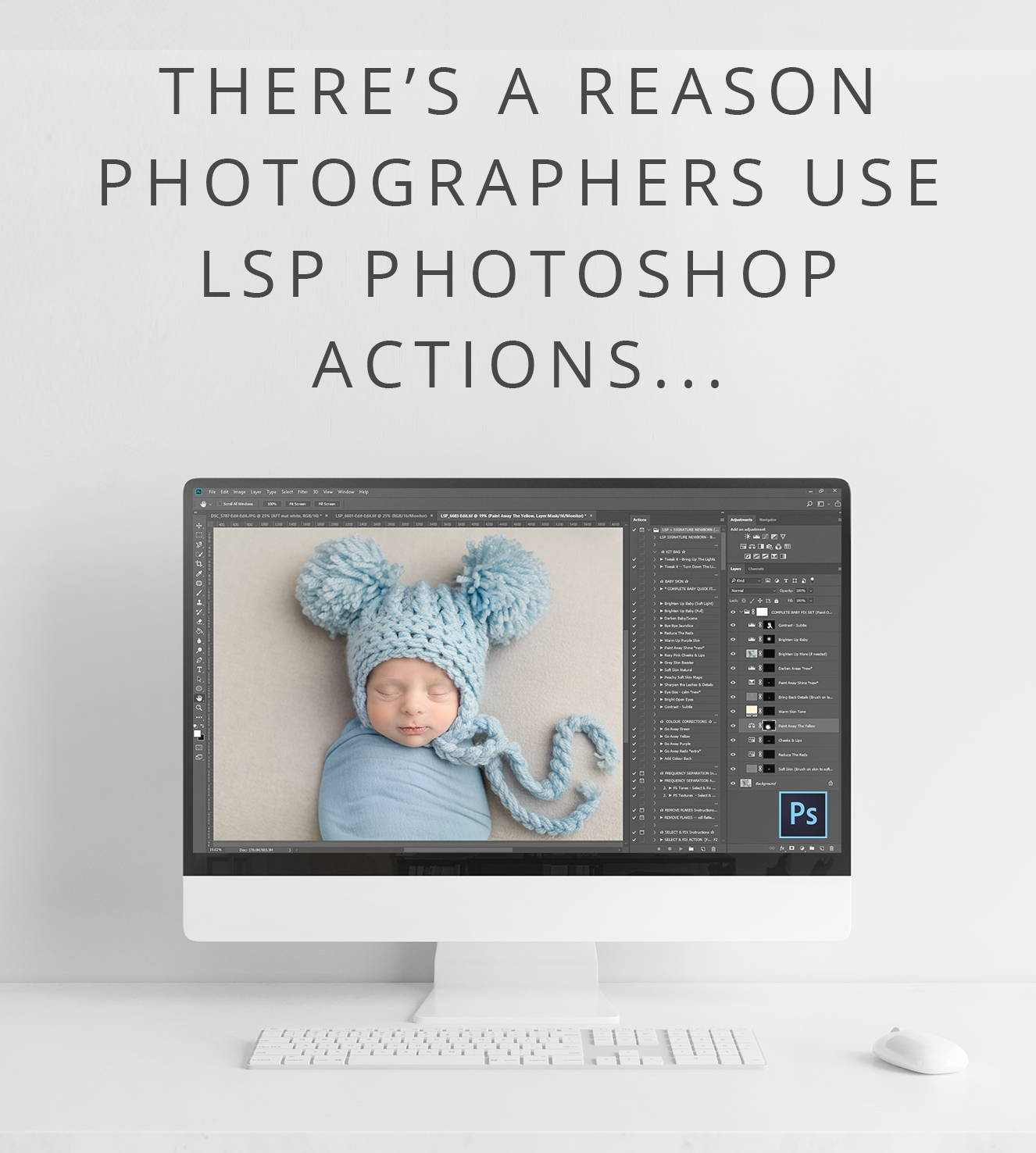 BEST PHOTOSHOP ACTIONS AS USED BY OVER 12OOO PHOTOGRAPHERS LSP ACTIONS