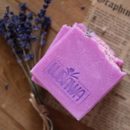 Натуральное  мыло с нуля   Марсельское лавандовое