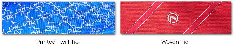 fabrics and hands for custom made neckties
