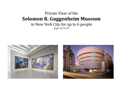 Private View of the Guggenheim Museum