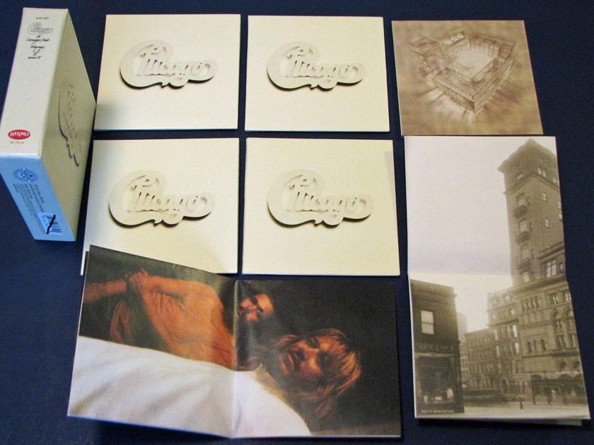 Chicago - At Carnegie Hall Vols.1-IV CD Box w/mini posters Near Mint