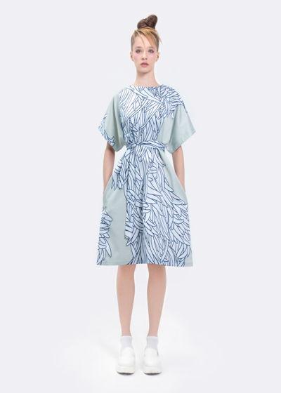 """Платье """"Прибрежные водоросли"""""""