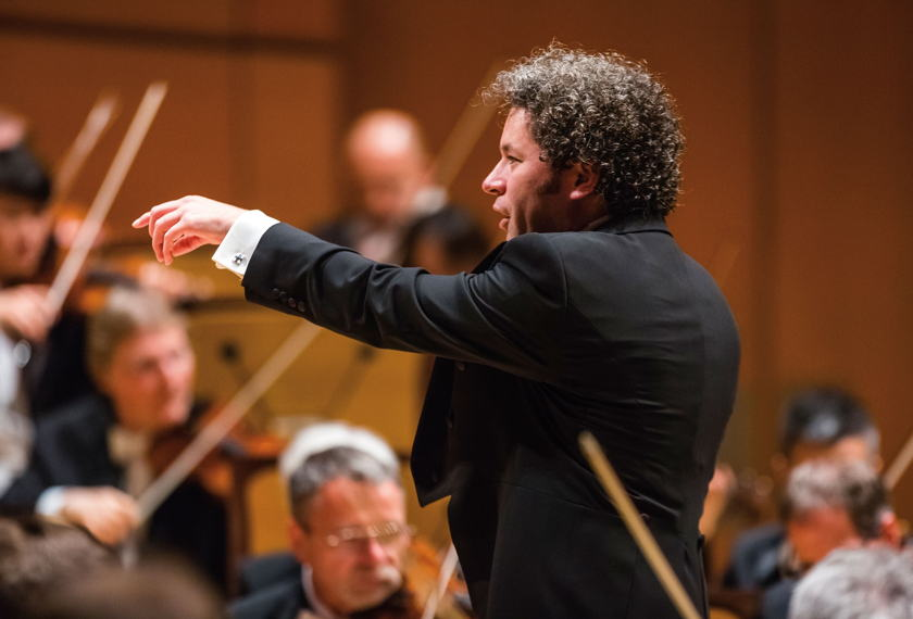 Dudamel Conducts Bruckner artwork