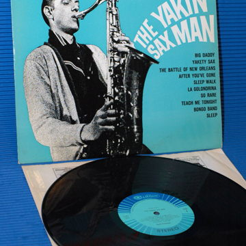 """The Yakin' Sax Man"" -"