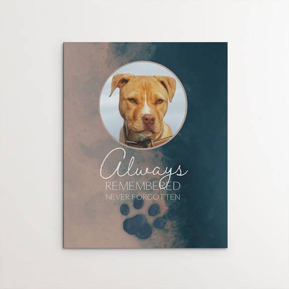 Always Remembered, Never Forgotten, Memorial, pitbull