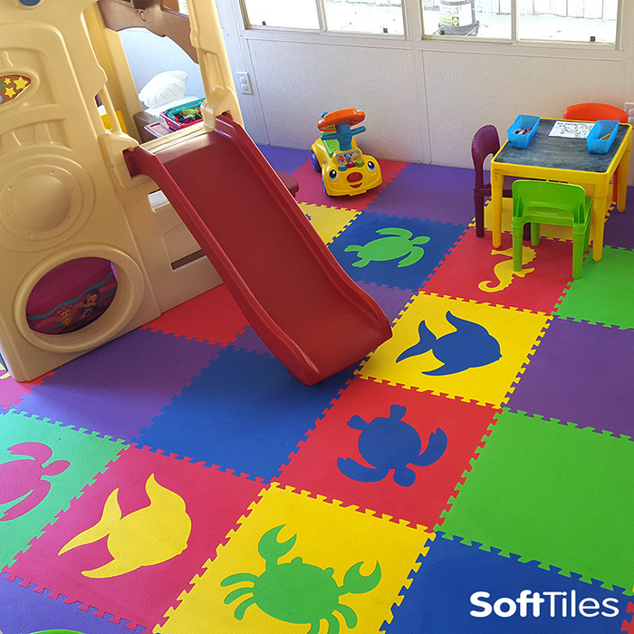 trends attic home ideas including kids playroom remarkable flooring gallery for inspirational best mats