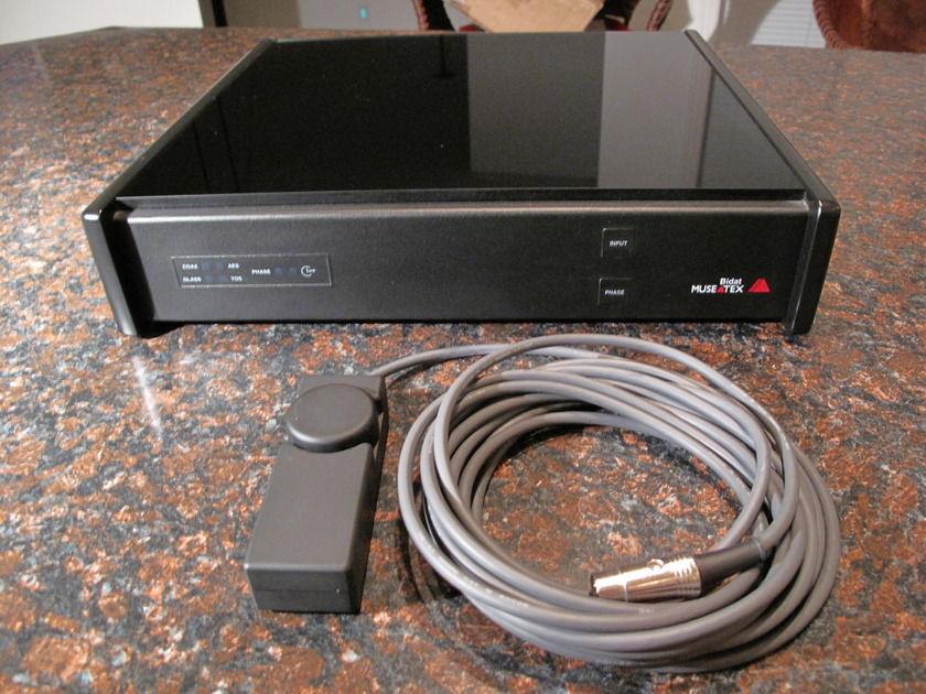 Museatex / Meitner Bidat digital to analog convertor
