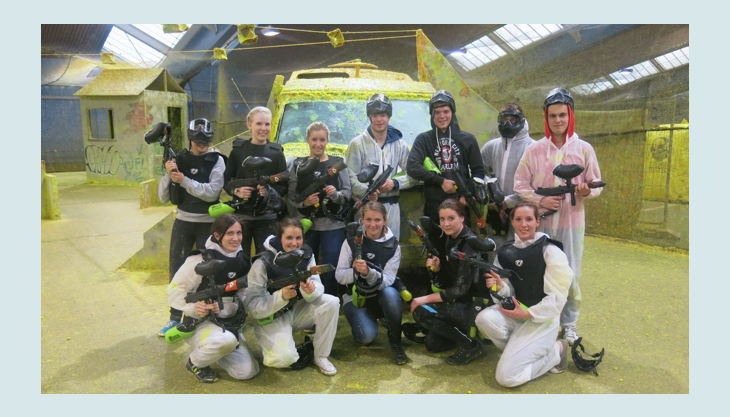 alma park gelsenkirchen paintball gruppe