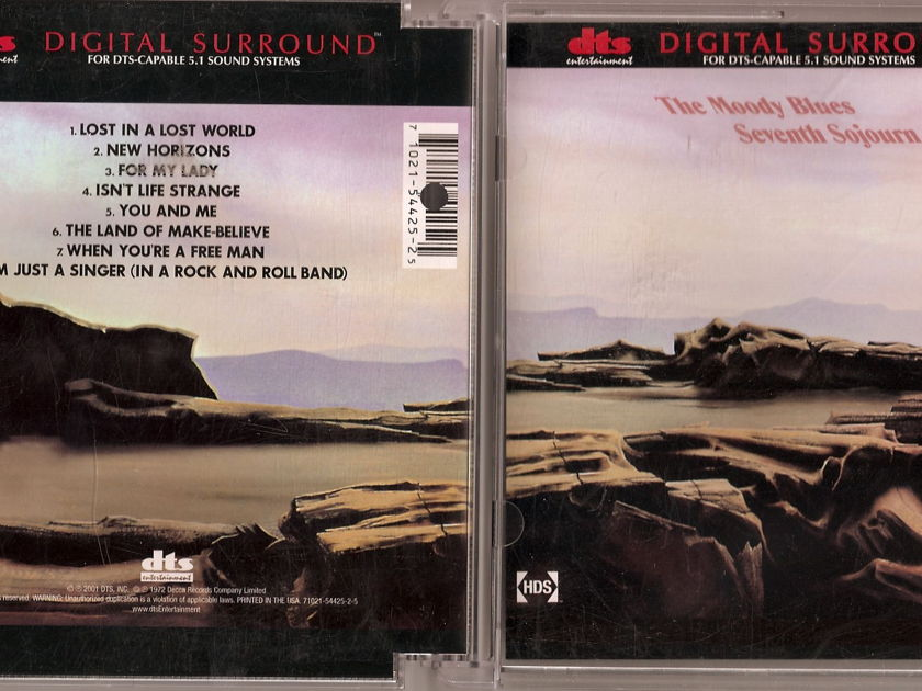 Moody Blues - Seventh Sojourn DVD-Audio DTS 5.1 Surround