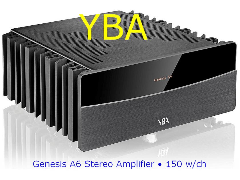 YBA Genesis A6  *** NEW *** 150w Stereo Amplifier