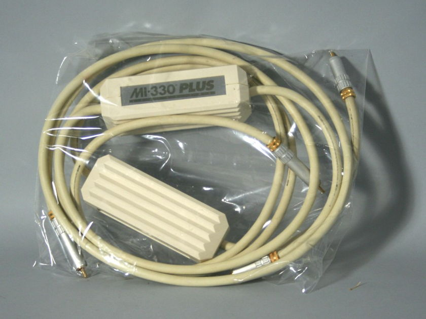 MIT Cables 330 Plus Interconnects 2-Meter Pair, No Reserve!