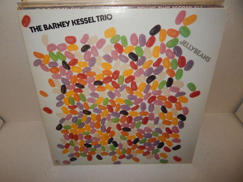 BARNEY KESSEL TRIO -  JELLYBEANS Bob Maize Jimmie Smith 1981 Concord Jazz LP
