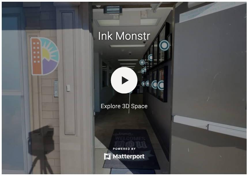 Ink Monstr Virtual Tour