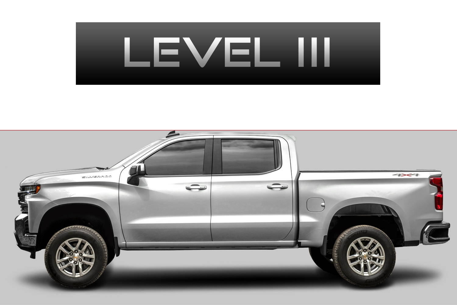 Chevrolet Silverado 1500 Off-Road Customizing Package Level 3 by 3C Trucks