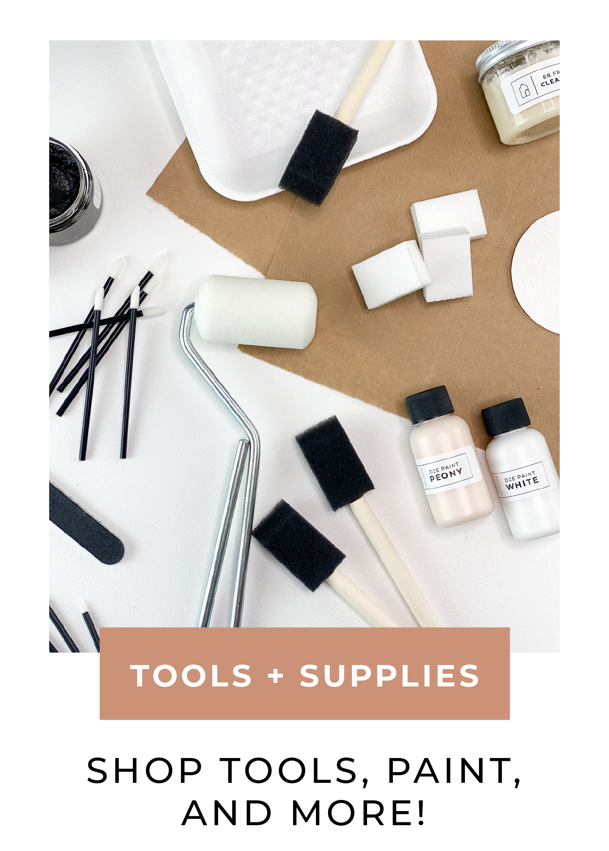 Shop Tools, Paint, and More!