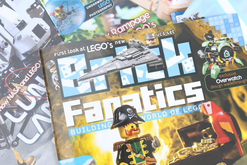 LEGO Bricks Fanatics Magazine