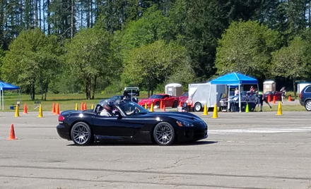 September Viper Autocross