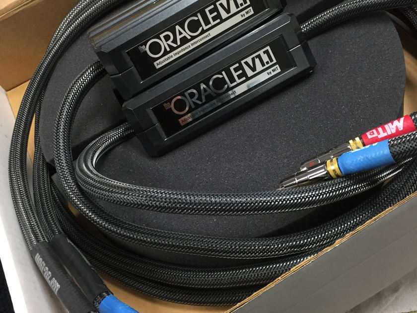MIT Oracle V1.1 Interconnects 10ft pair with RCA's