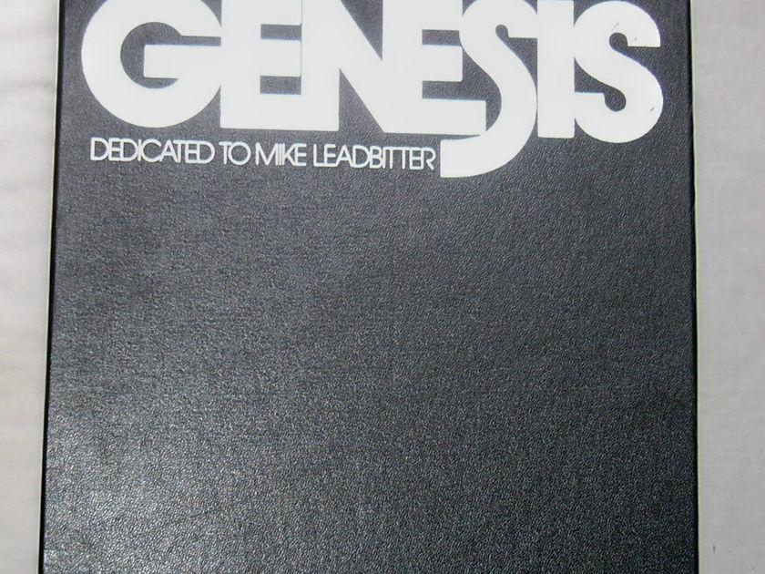 RARE 4 LP BLUES BOX - - GENESIS: DEDICATED TO MIKE LEADBITTER -  1974 CHESS UK