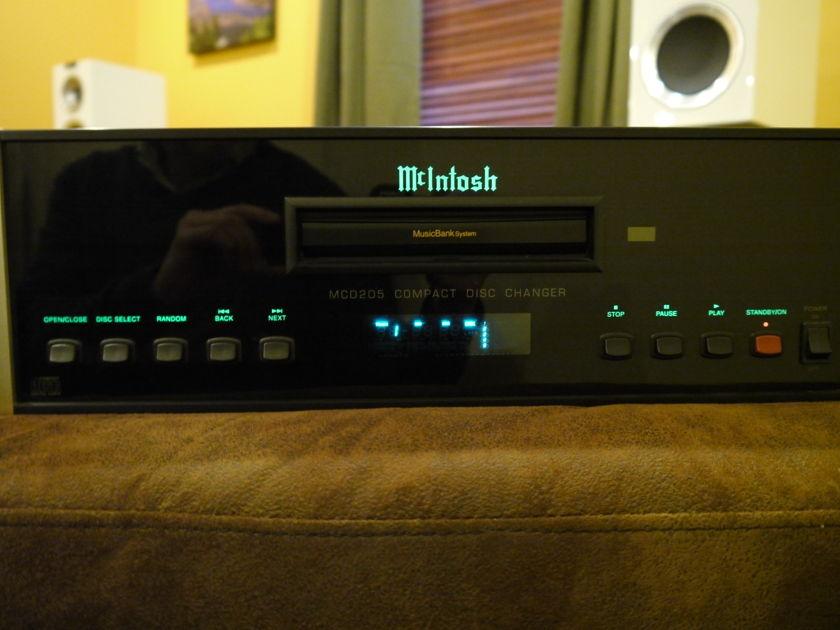 McIntosh MCD-205 5 Disc CD Changer