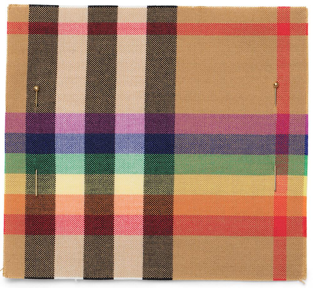 Burberry Reveals Lgbtq Rainbow Check Pattern 2modern