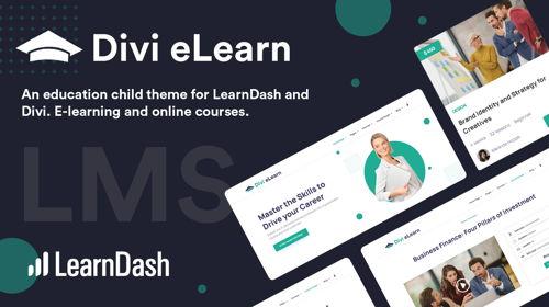 Divi eLearn for LearnDash