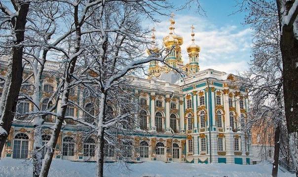 Автобусная экскурсия Царское село (Пушкин) с посещением Янтарной комнаты