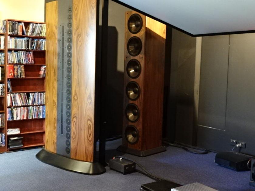Genesis 1 Massive 7.3 feet, 4 towers with 4000 watt Bass Amp