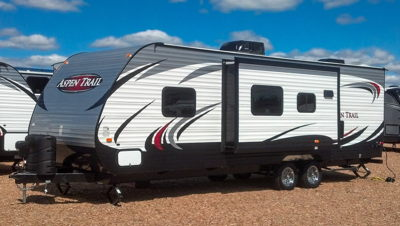 Aspen Trail Travel Trailer Graphics