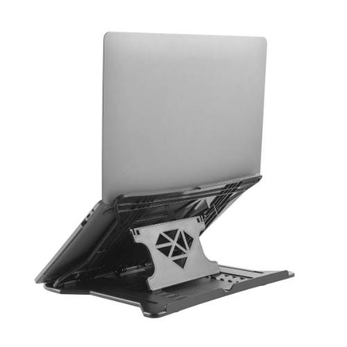 Laptop riser stand for computer monitor height