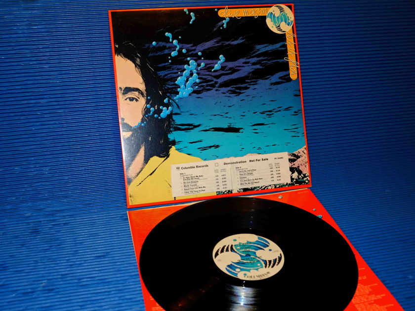 "DAVE MASON   - ""Let It Flow"" - Columbia 1977 Promo   w/DJ Timing Chart 1st Pressing Side I Hot Stamper"