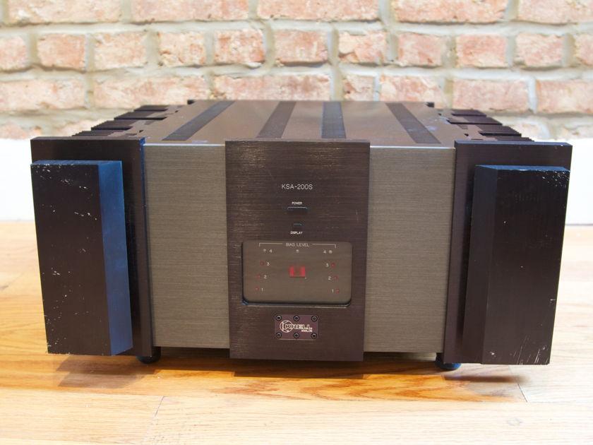 Krell KSA-200s power amplifier