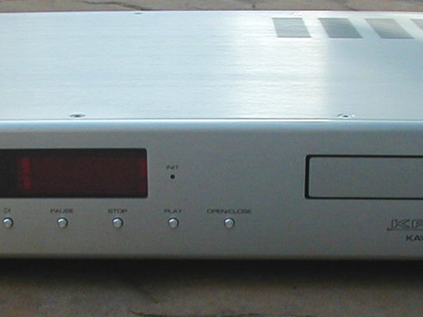 Krell KAV-280cd silver cd player with remote