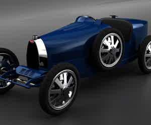 Bugatti's Glossy New Toys