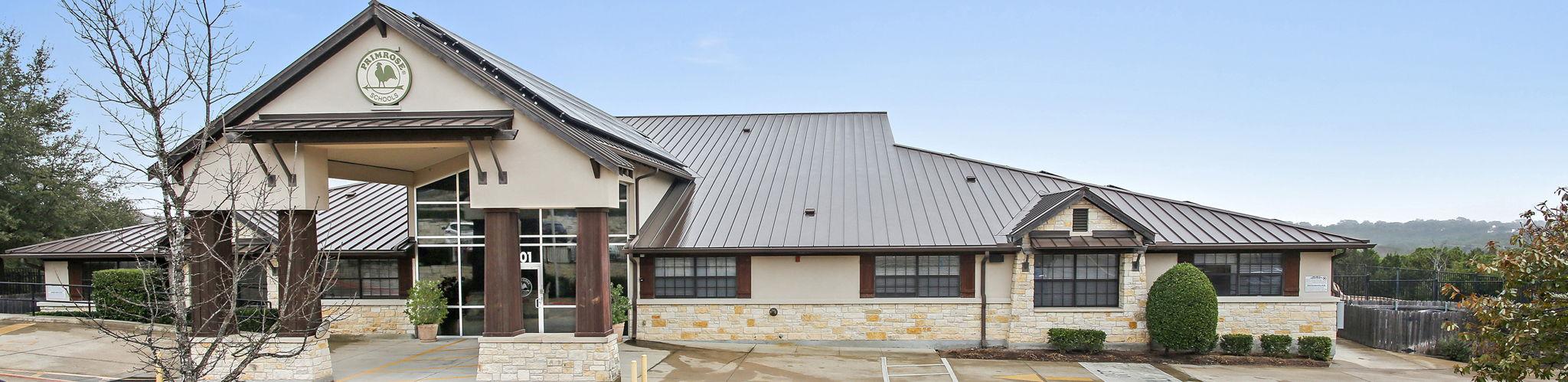 front exterior image of Primrose School of Lakeway