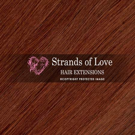 Strands Of Love Hair Extensions Colour Copper Brown