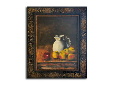 """Vase with Apples"""