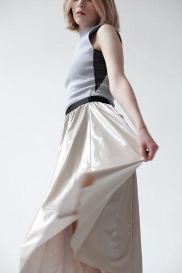 Лаковая юбка SHINE