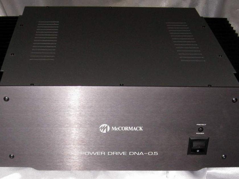 Mccormack dna-0.5 power amplifier