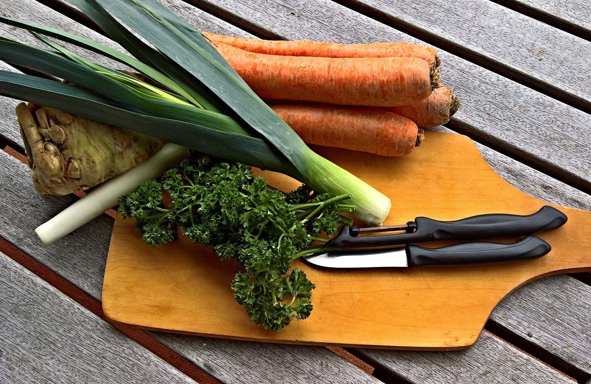 Leftover Roast Vegetables for Soup
