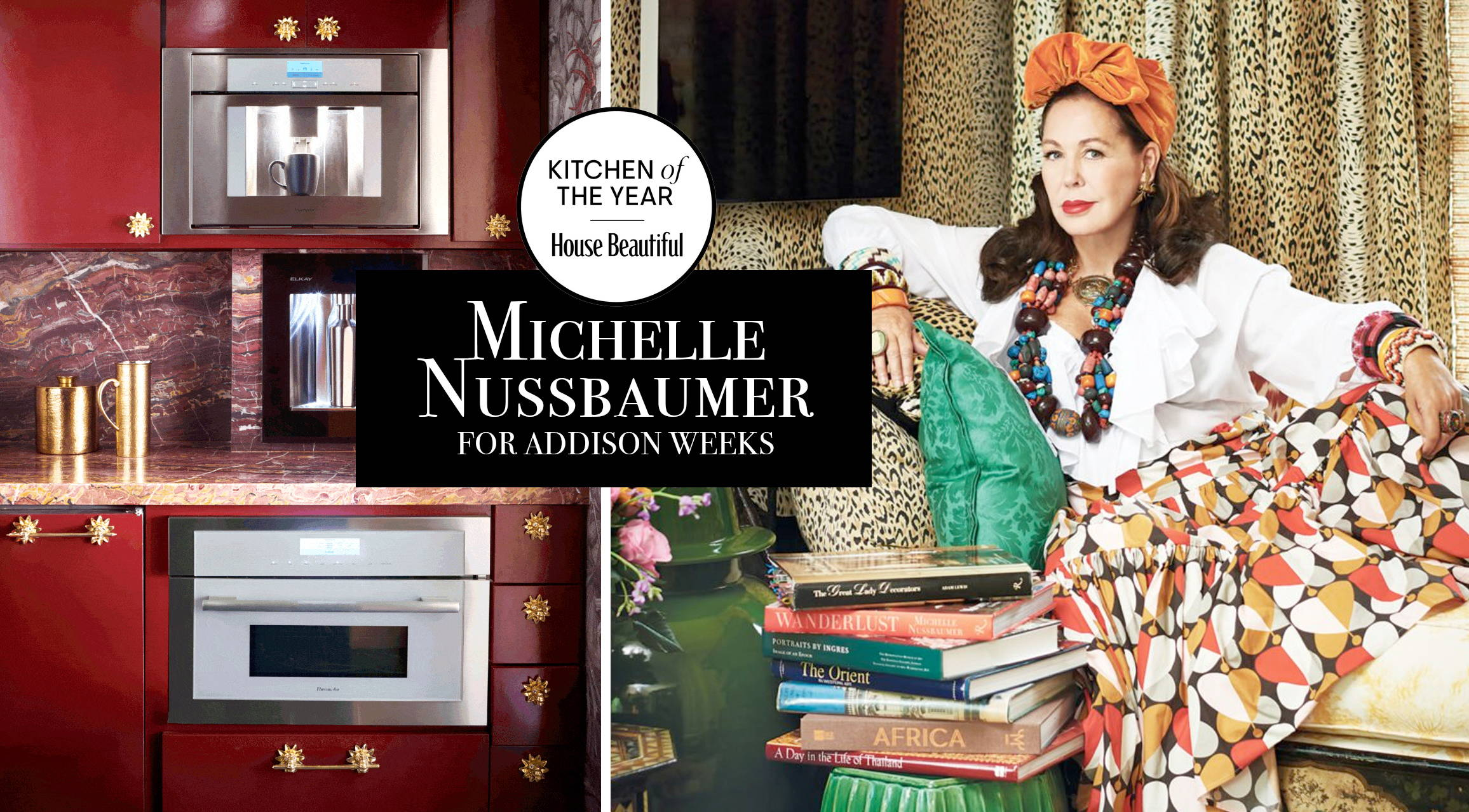 House Beautiful Kitchen of the Year by Michelle Nussbaumer Featuring Modern Matter by Addison Weeks Hardware
