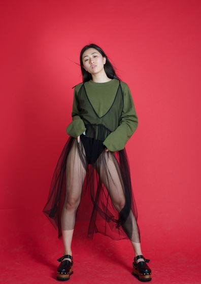 Платье TOKYO (SS18) черное / Один размер