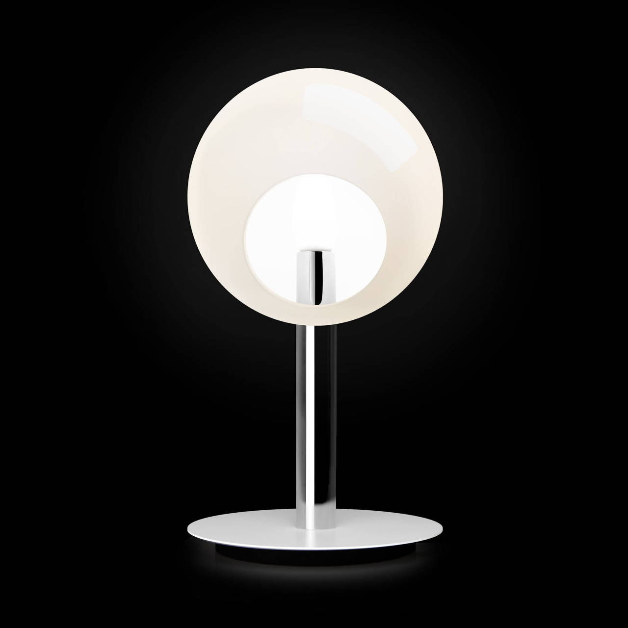 Stem Table Lamp in Chrome