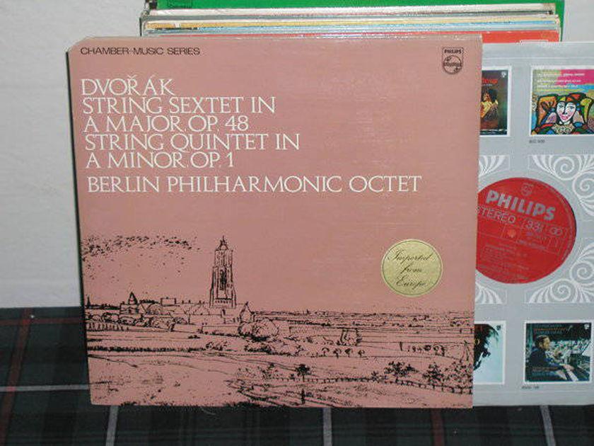 Berlin Octet - Dvorak Strng Quintet Philips import pressing 839 ly