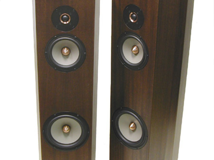 Tyler Acoustics Linbrook system II's (new version) ribbon mahogany!
