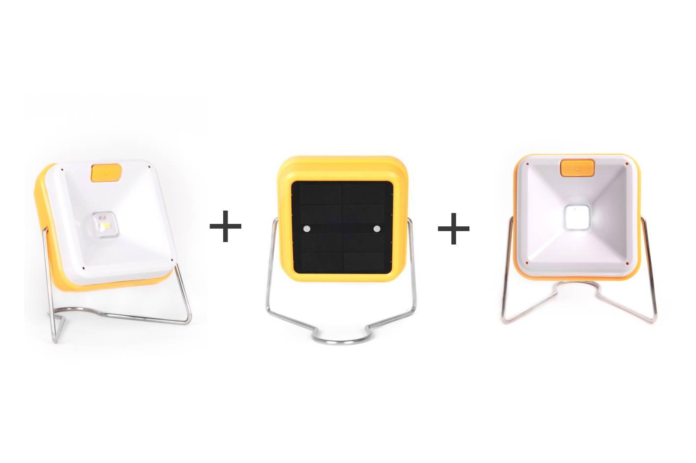lámparas solares sola cube