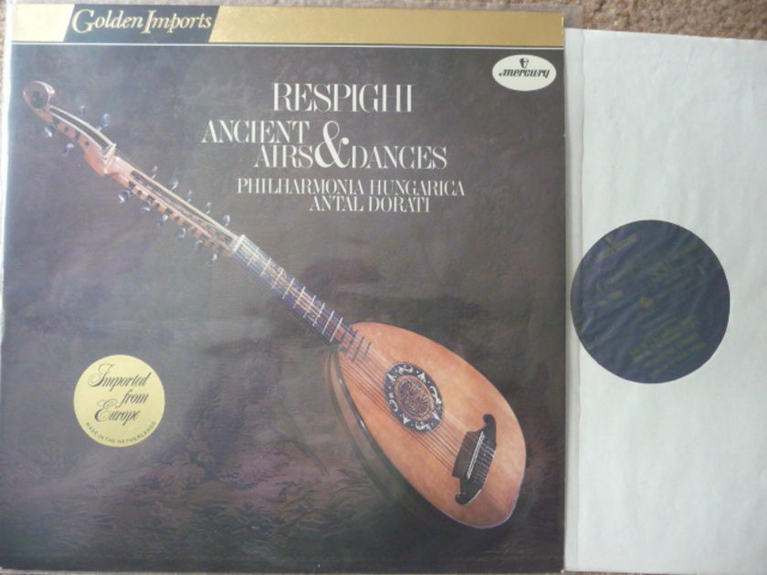 RESPIGHI  - AIRS & DANCES  Mercruy GOLDEN IMPORTS LP