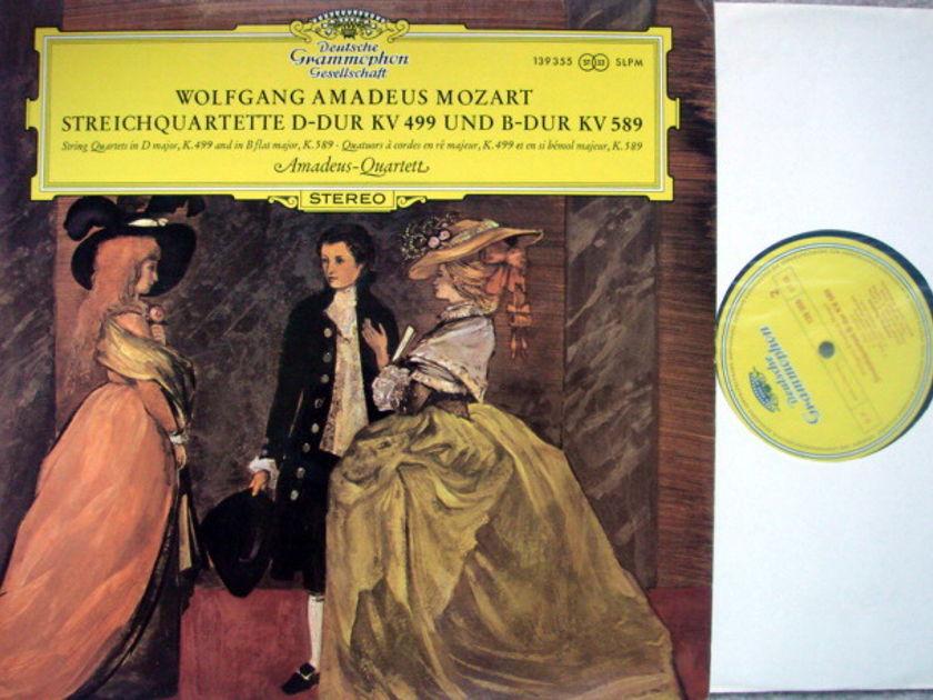 DGG / AMADEUS QT, - Mozart String Quartets K.499 & 589, MINT!